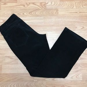Ann Loft corduroy Black pants